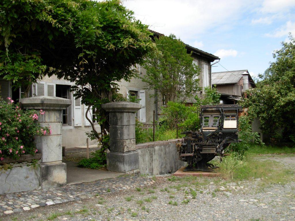 La maison d'Aristide Berges prés de Grenoble