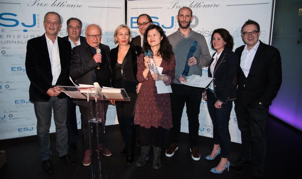 Doan Bui et Philippe Pujol, Prix littéraires ESJ Paris-Maison Blanche 2017