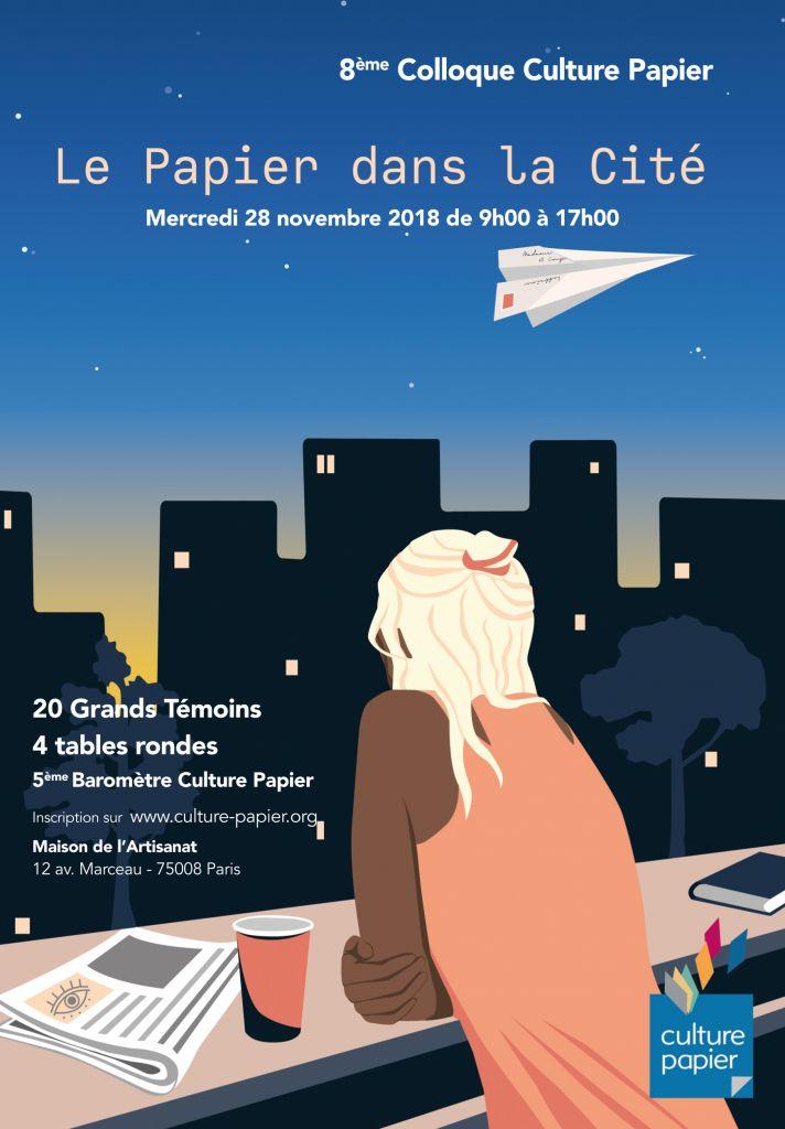 Culture Papier s'engage pour le Papier dans la Cité