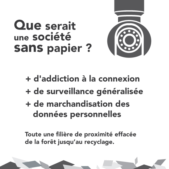 Que serait un monde sans papier ?