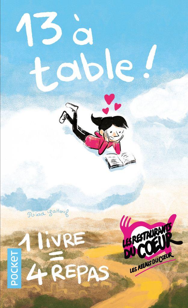13 à Table, la 7ème édition du livre au profit des Restos du coeur est en librairie