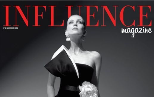 Influence, le magazine qui prouve l'influence du support papier.