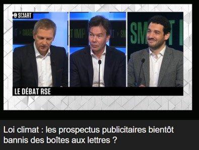 Guillaume Le jeune interrogé sur le bannissement du prospectus par B Smart (Stéphane Soumié)